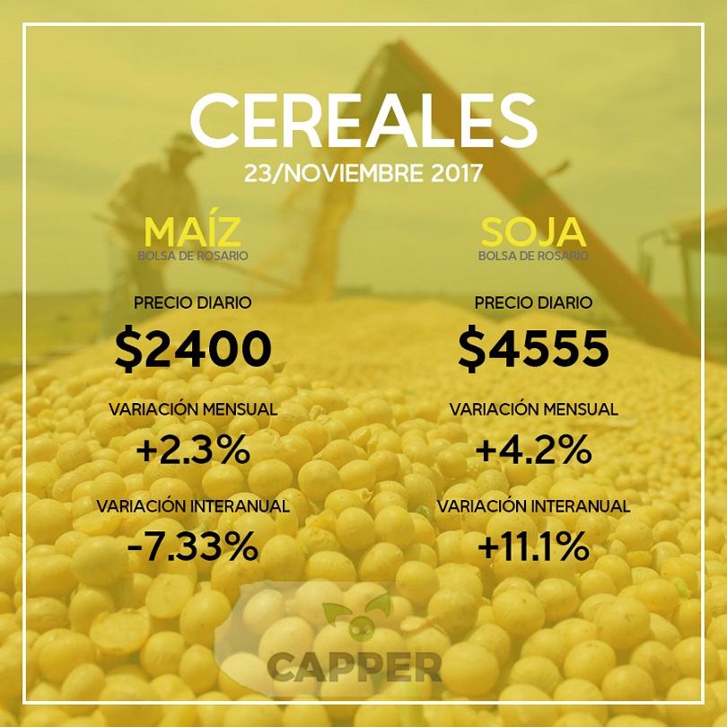 Precios cereales 9